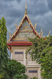 Phetchaburi Temple Facade Stock Image
