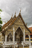 Phetchaburi Temple with moody sky Stock Images