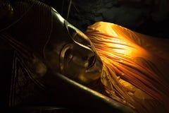 Phetchaburi, Thailand - February 19,2018: Buddha statue at Khao Luang Cave, Phetchaburi province, Thailand. Editorial use only.  royalty free stock photos