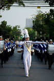 Phranakhonkhiri Festivalparade 2013 auf Straße Stockfotos