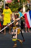 Phranakhonkhiri Festivalparade 2013 auf Straße Lizenzfreie Stockfotografie
