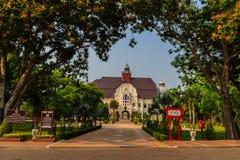 Phetchaburi Thailand - mars 19, 2015: Härligt landskap och Arkivfoto