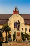 Phetchaburi Thailand - mars 19, 2015: Härligt landskap och Arkivbild