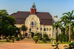 Phetchaburi Thailand - mars 19, 2015: Härligt landskap och Royaltyfri Bild