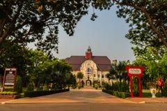 Phetchaburi Thailand - mars 19, 2015: Härligt landskap och Fotografering för Bildbyråer