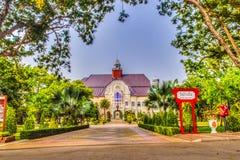Phetchaburi Thailand - mars 19, 2015: Härligt landskap och Arkivbilder