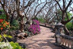 Phetchaburi, Thailand: Royal Palace Gardens Royalty Free Stock Image
