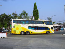 Phetprasert tour. Bus route Chiangmai and Ubon ratchathani, north and eastern region of thailand Stock Images