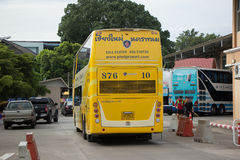 Phetprasert tour company. Bus for Route Nakhon Phanom and Chiang Royalty Free Stock Photos