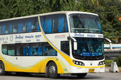 Phetprasert tour company. Bus for Route Ubon ratchathani and Chi Stock Photo