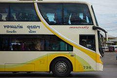 Phetprasert tour company. Bus for Route Ubon ratchathani and Chi Stock Photos