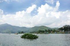 Phewa湖 图库摄影