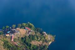 Phewa Lake aerial view in Nepal Stock Images