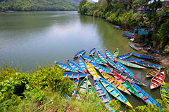Phewa lake Royalty Free Stock Photo