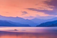 Phewa lake, Pokhara Royalty Free Stock Photos