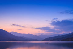 Phewa lake, Pokhara Royalty Free Stock Image
