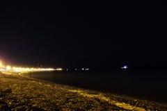 phi Ταϊλάνδη νύχτας νησιών παραλιών Στοκ Εικόνες