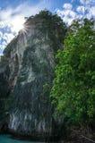 phi τοπίων νησιών βαρκών μαγική ανατολή ταϊλανδική Ταϊλάνδη Στοκ φωτογραφίες με δικαίωμα ελεύθερης χρήσης