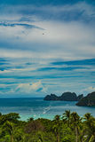Phi Дон Phi Koh точки зрения в море andaman, Пхукете, Krabi, к югу от Таиланда Стоковые Фото