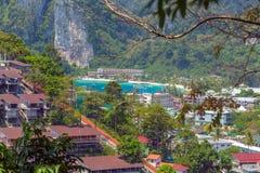 Phi Дон Phi Koh точки зрения в Таиланде Стоковое Фото