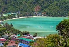 Phi Дон Phi Koh точки зрения в Таиланде Стоковое фото RF