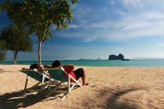 phi Таиланд ko острова пляжа красивейший Стоковая Фотография