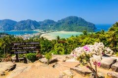 Phi de la phi de Ko, Tailandia Imagenes de archivo