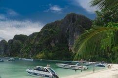 Phi Phi Island Thailand, aprile 2013 Fotografia Stock
