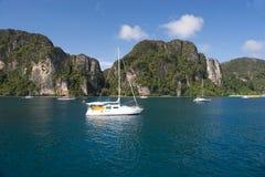Phi Island_Thailand da phi Fotografia de Stock Royalty Free
