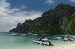 Phi Phi Island Thailand, im April 2013 Stockbild