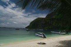 Phi Phi Island Thailand, im April 2013 Lizenzfreies Stockbild