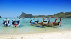 Phi Phi Island in Thailand royalty free stock photos
