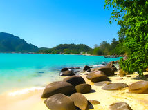 Phi Islands in the Andaman Sea, Thailand Royalty Free Stock Photos