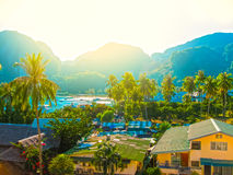 Phi Islands in the Andaman Sea, Thailand Royalty Free Stock Image