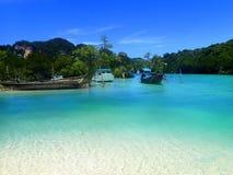 Phi phi koh острова Таиланда надевает Стоковое фото RF