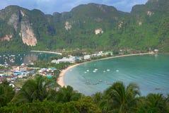 phi koh острова стоковое изображение