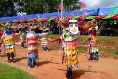 Phi Kon Nam Cultural in Chiang Khan Stock Foto