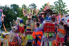 Phi Kon Nam Kulturalny w Chiang Khan Zdjęcia Stock