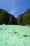 Phi lay bay, Thailand. Phi lay bay, ,Southern island of Thailand Royalty Free Stock Photo