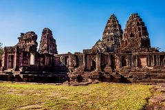 Phi mai historical national park in nakorn ratchasima province n Stock Images