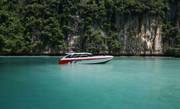 phi maya залива Стоковая Фотография
