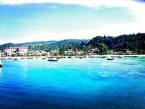 Phi Phi öar, Thailand Fotografering för Bildbyråer
