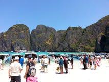 Phi Phi νησί Ταϊλανδός Στοκ φωτογραφία με δικαίωμα ελεύθερης χρήσης