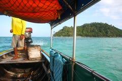 Phi Phi νησιά - η παραλία - Ταϊλάνδη Στοκ εικόνες με δικαίωμα ελεύθερης χρήσης