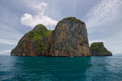 Phi Phi. In Thailand.Andaman sea Royalty Free Stock Images