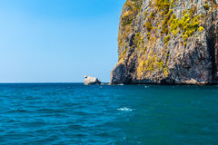 Phi Phi cliff Royalty Free Stock Photo