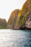 Phi-phi cliffs Stock Image