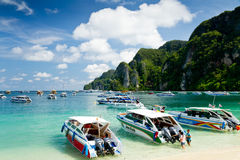Phi Phi Don island, Phuket, Thailand Royalty Free Stock Photography