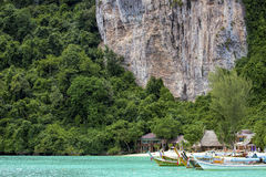 Phi Phi Don is the largest of the Phi Phi Islands in Thailand Royalty Free Stock Photography