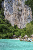 Phi Phi Don is the largest of the Phi Phi Islands in Thailand Stock Images